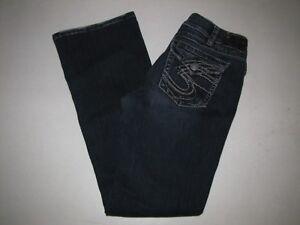 Jeans 1 30 elasticizzati 2 2 Surplus blu Silver Suki 1 Taglia Womens Jeans tOqgHwHA