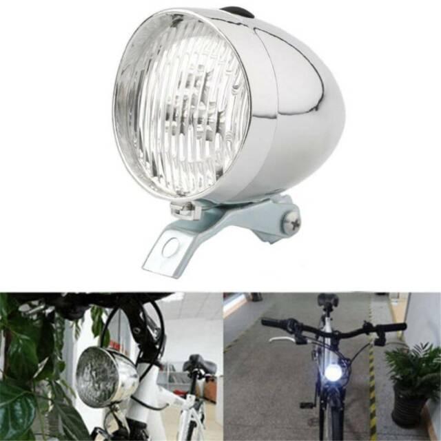 3LED Retro Front Tail Lamp Bicycle Bike Cycling Headlamp Headlight Light Cycling