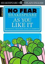 As You Like It-No Fear Shakespeare-Side-by-side text and translation-Comb ship
