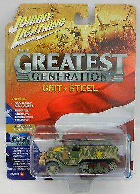 Johnny Lightning *GREATEST GENERATION IN COLOR A* M2 Half-Truck Tank *NIP*