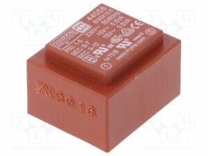 Transformer-Coating-1VA-230VAC-15V-15V-33mA-33mA-44058-Pcb-Transformatoren