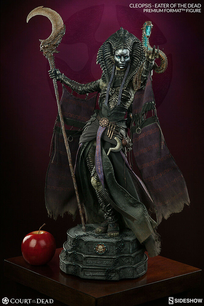 Sidemostrare CLEOPSIS Eater 14 Court of The Dead PREMIUM FORMAT Statue IN STOCK