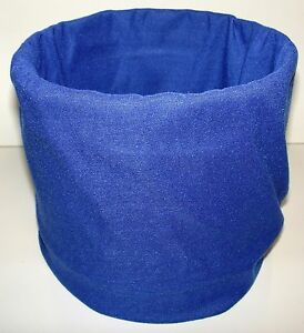Solid-Royal-Blue-Tubular-Multi-Function-Headwear-12-USES-Biker-Beanie-ATV-Sport