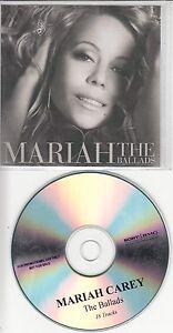 MARIAH-CAREY-The-Ballads-2008-UK-18-track-promo-test-CD