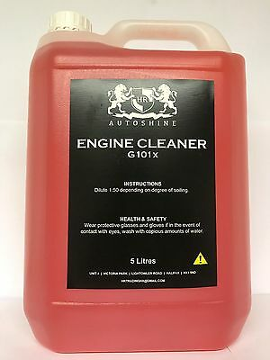 HR -  Engine Degreaser Heavy Duty Engine De Gunk & Clean - 5ltr Ready to use