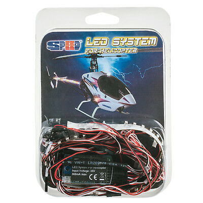 Led Sistema Luce Per Elicottero Radiocomandato Speed Fle / H 230021 Prezzo Di Strada