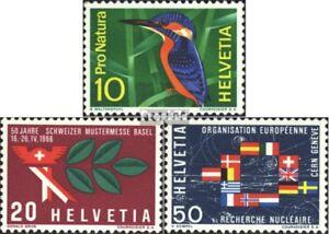 Schweiz-833-835-kompl-Ausgabe-gestempelt-1966-Jahresereignisse