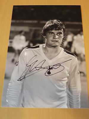 Signed Glenn Hoddle Tottenham Hotspur 12x8 Photo