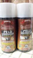 2 Pack Shampoo Growth Promoter Aceite Cacahuananche 16 Fl.oz Ea Plantimex