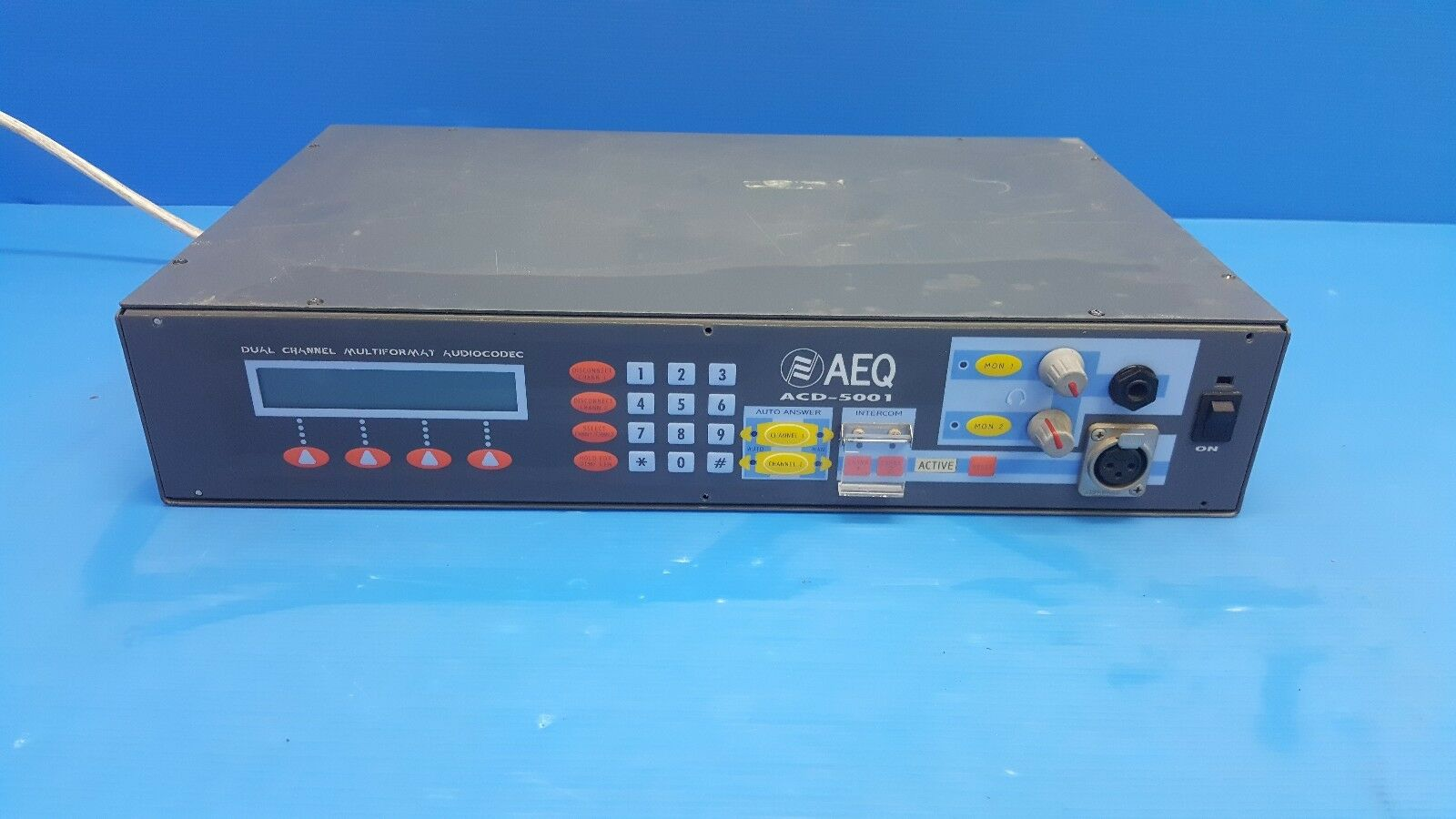 AEQ ACD-5001 Dual Multi-format Audio Codec