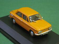 NSU TT orange Schuco 1:43 Modellauto Oldtimer