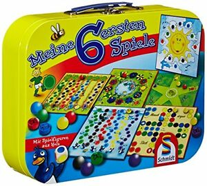 Schmidt-Spiele-Meine-6-ersten-Spiele-Brettspiele-Spielesammlungen-Spielzeug-NEU