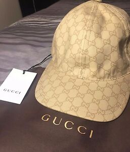 authentic gucci gg guccisima signature hat baseball cap. Black Bedroom Furniture Sets. Home Design Ideas