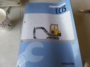volvo ec15 type 261 xt xtv excavator service manual ebay rh ebay com