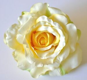 5 pale light pastel yellow green highlights rose silk flower hair image is loading 5 034 pale light pastel yellow green highlights mightylinksfo