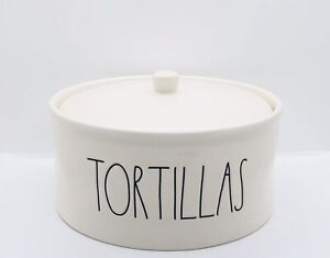 Rae-Dunn-Artisan-Collection-By-Magenta-TORTILLAS-Ceramic-Tortillas-Warmer-VHTF