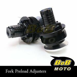 Fork Red Preload Adjusters Fit Honda NC750 14-15