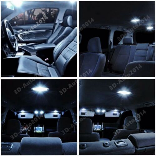 10pcs LED Xenon White Light Interior Package Kit for Subaru Brz 2013-2015