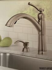 Delta 16967 Spsd Dst Kine Single Handle Pull Out Kitchen Faucet Stainless For Sale Online Ebay