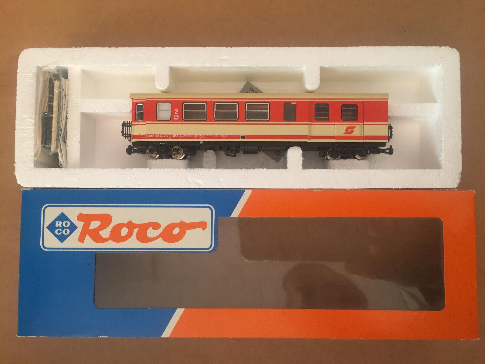 ROCO h0e-traccia, ÖBB 2. classe vetture passeggeri con Borsaaglio compartimento  Maria Zeller Ferrovia  NUOVO