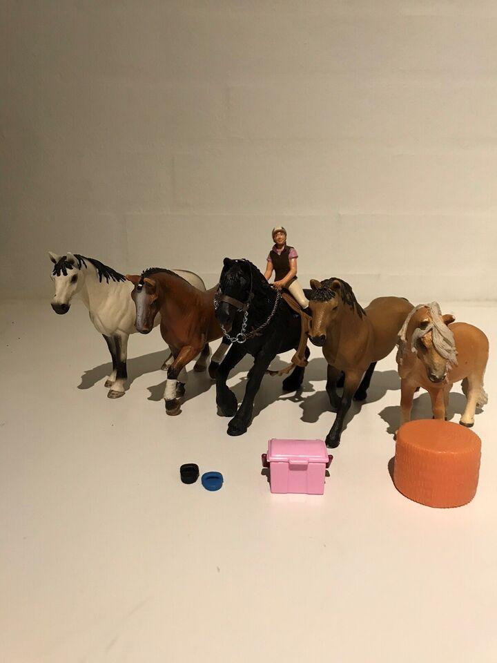 Figurer, Heste, Schleich