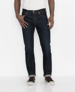 Levi's W30 Fume L32 Levis 501 Herren Neu Leg Denim w40 Straight Jeans Hose Clean r7Ipqr