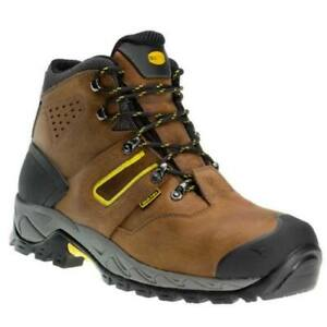 Utility-Diadora-HI-IBEX-S3-HRO-SRC-WR-Work-Safety-Boots-Suede-Brown-Eu44-UK9