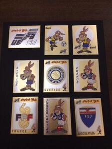 Album Panini Euro 92 1992 scudetto badge shield a scelta new mint choose one ! - Italia - Album Panini Euro 92 1992 scudetto badge shield a scelta new mint choose one ! - Italia