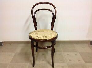Details Zu Original Thonet Stuhl Nr 14 1 2 Um1860 Erste Etikette