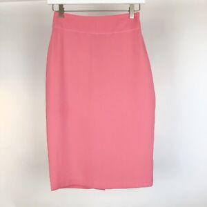 Beriqisu-Women-039-s-Skirt-Size-2-Pink-Peach