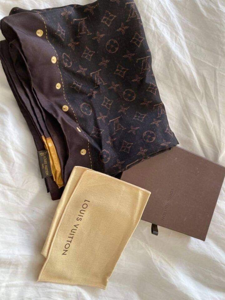 Tørklæde, Louis Vuitton , str. ?