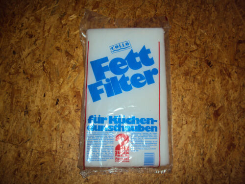 2 Stück FETT FILTER für Dunstabzugshaube 57 x 46,5 cm Filtermatte Filtervlies