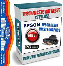 Epson Stylus Photo 1390 1400 1410 Printer Reset Waste Ink Service