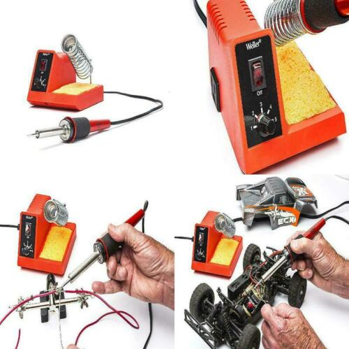 Weller Electric 40W Soldering Pencil Iron Station Tip Heater Solder Tool Kit Set