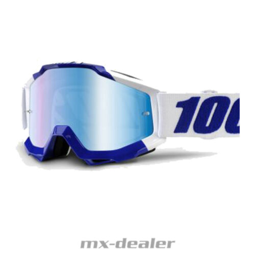 100 /% Prozent Accuri CALGARY verspiegelt MX Motocross Cross Brille BMX MTB 2018
