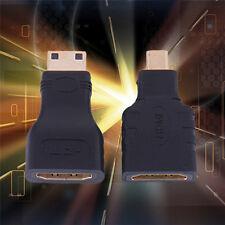 2 In 1 HDMI Female to Mini HDMI to Micro HDMI Adapter Convertor Connector HD TV