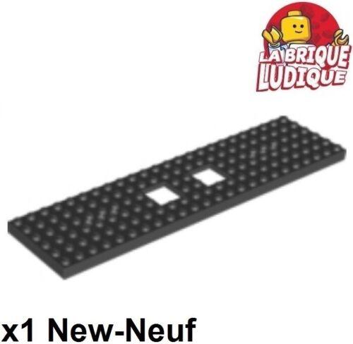 Lego 1x train eisenbahn plaque base chassis 6x24 noir//black 92088 NEUF