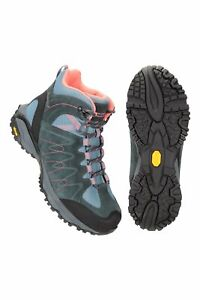 Mountain Warehouse Wms  Rockies Womens Extreme Waterproof Vibram Boot In Blue -