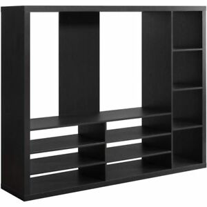 Image Is Loading Entertainment Center Wall Unit Contemporary Cabinet TV  Stand