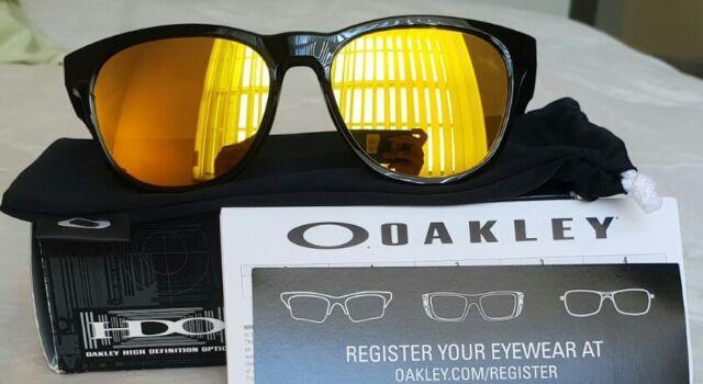 5494cfcffe7 Oakley Sunglasses Stringer Polished Black 24k Gold Iridium Oo9315-04 ...
