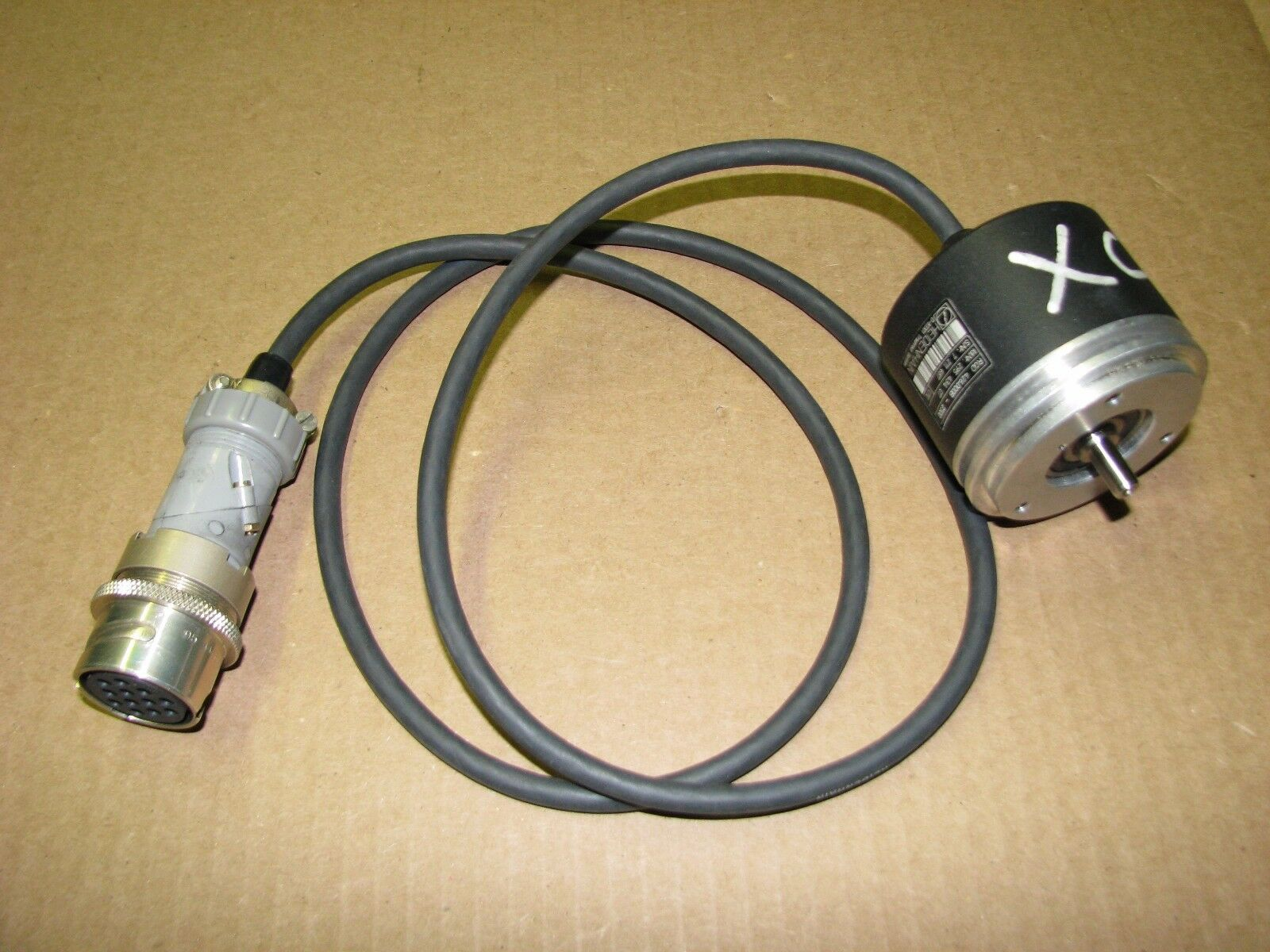 EPC MA36S Mulitturn Absolute Encoder 12//10 Bit SSI Bianry 6mm Shaft 8-Pin M12