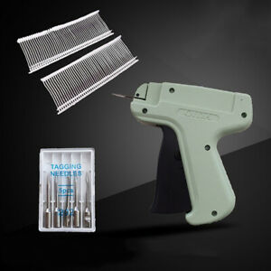 """Regular Clothing Price Lable Tagging Tag tagger Gun With 1000 3/"""" Barbs+5 Needle"""