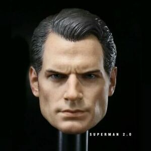 1-6-Scale-Superman-Henry-Cavill-Head-Sculpt-Fit-12-034-Male-Action-Figure-Body
