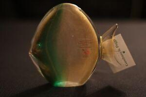 Murano Italian Art Glass -Gold Fleck Fish - Gambaro & Poggi - FAMOUS GLASS MAKER
