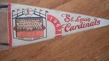 "St Louis Cardinals 1967 NL Champs 30"" Team Picture Pennant"