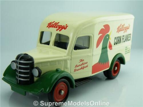 Kelloggs Corn Flakes 30CWT BEDFORD Van DG063 modello 1//76 circa emissione K8967Q ~ # ~