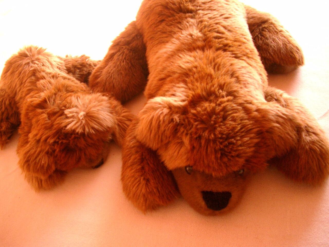 Teddybaermama mit Kind, gebraucht, aber sehr gut erhalten    Haltbar