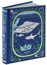 20,000 LEAGUES UNDER THE SEA ~ JULES VERNE ~ LEATHER GIFT EDITION ~ ILLUSTRATED