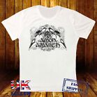 AMON AMARTH SKULL VIKING DEATH METAL OPETH TURISAS NEW WHITE T-SHIRT 235