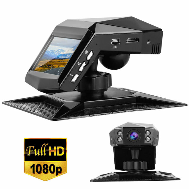 1080P HD Hidden Car Camera DVR Dash Cam Recorder with WiFi G-sensor Parking Mode